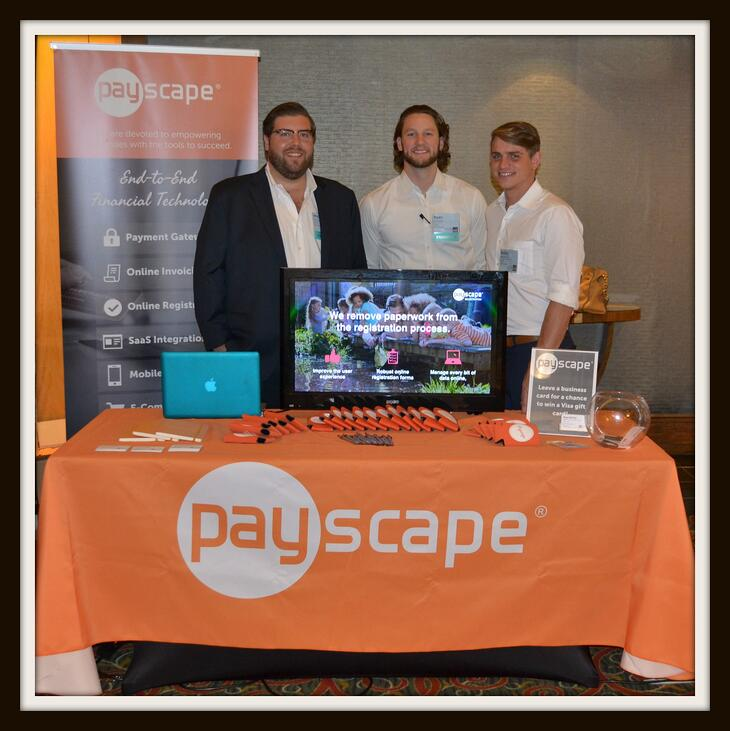 SAIS and Payscape Booth