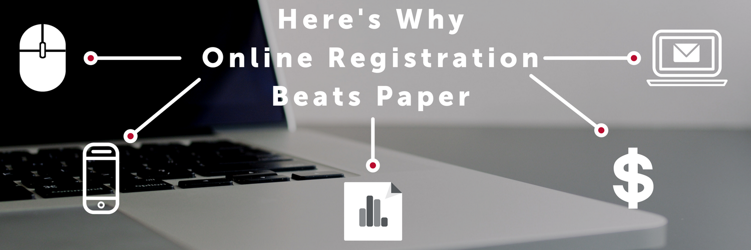 Here's Why Online Registration Beats Paper