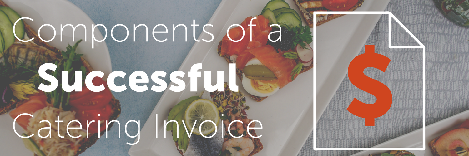 Components of a Successful Catering Invoice