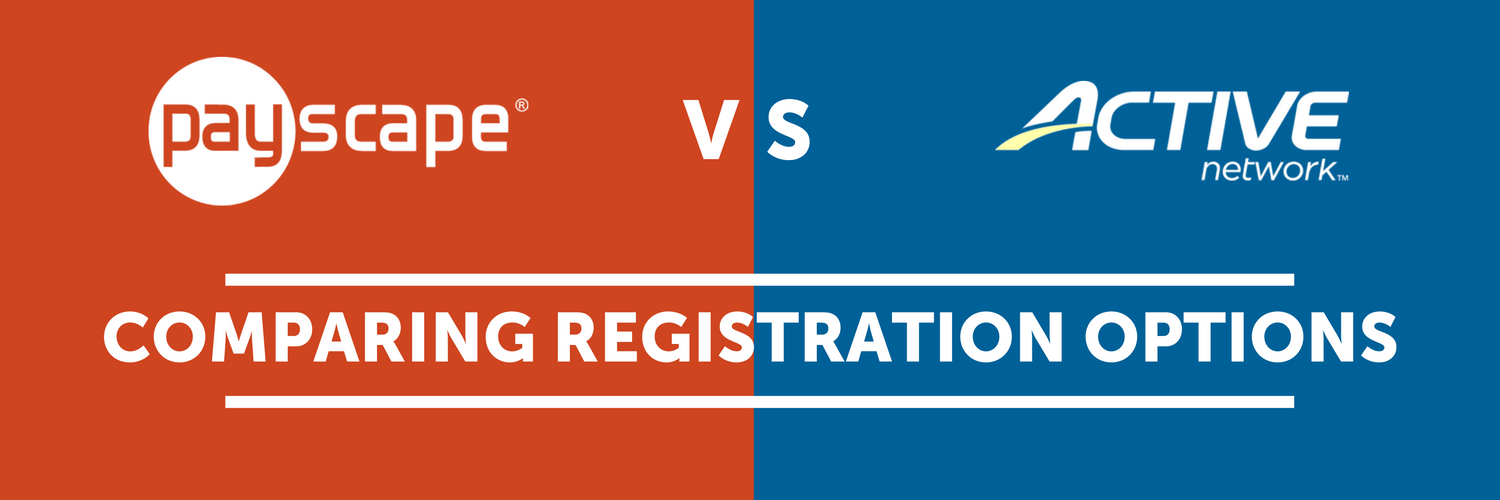Payscape Registration vs. Active Network - Comparing Online Registration Solutions [Infographic]
