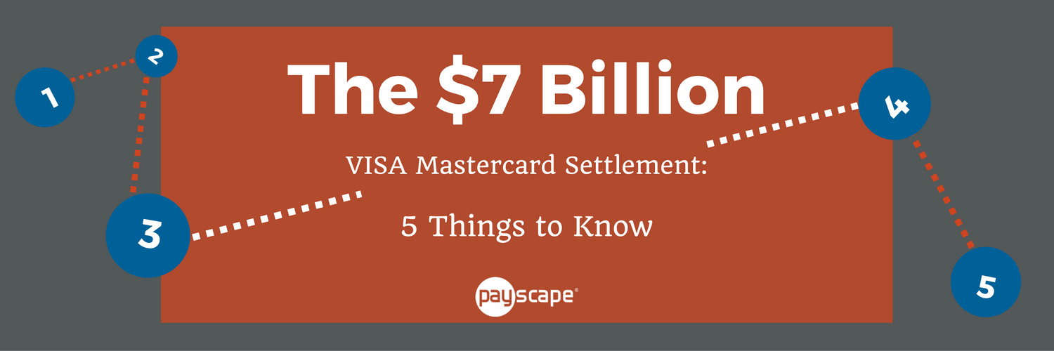 The $7B VISA Mastercard Settlement: 5 Things to Know