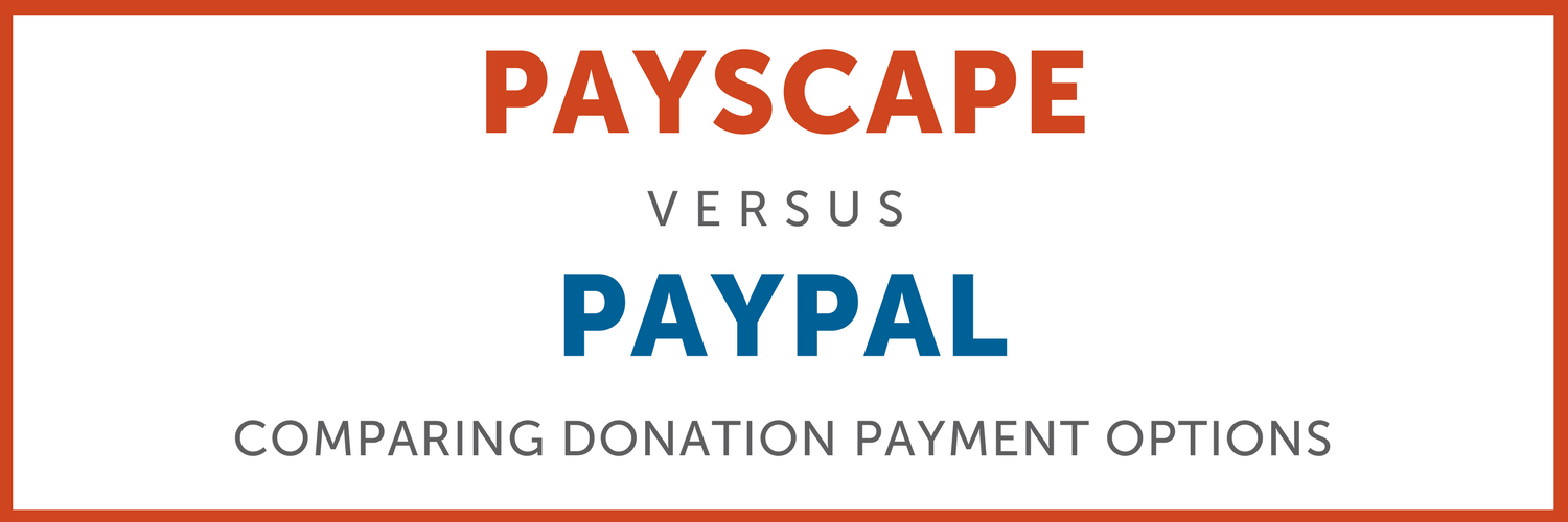 Payscape vs Paypal Donations: Comparing Payment Options [Infographic]