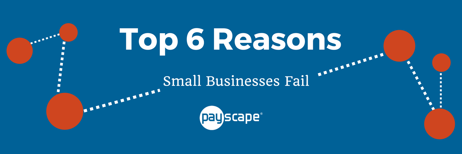Top 6 Reasons Small Businesses Fail